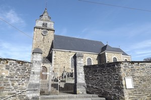 GR 571 : Bra, église ND de l'Assomption