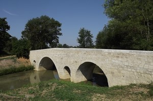 GR 65 : pont d'Artigues
